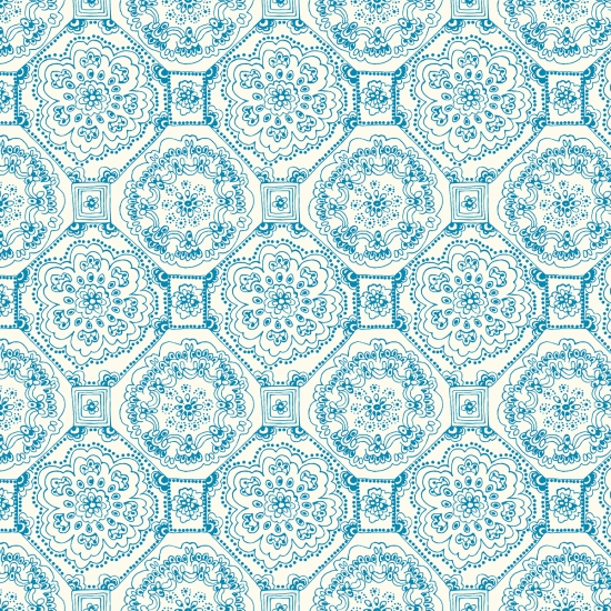 141Ivory Turquoise