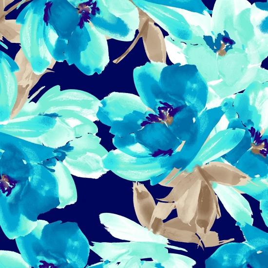 421Navy Turquoise