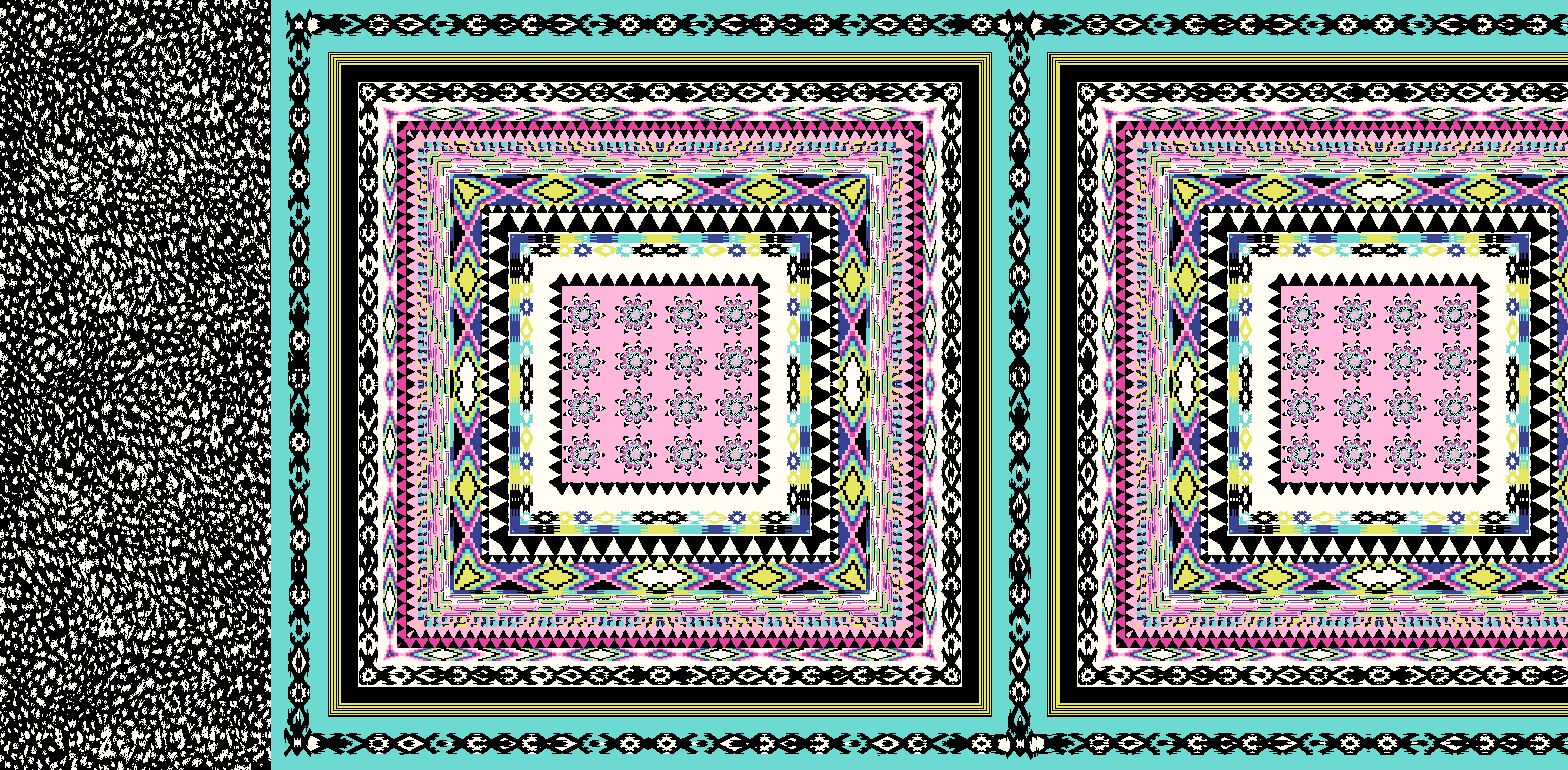 493Turquoise Pink