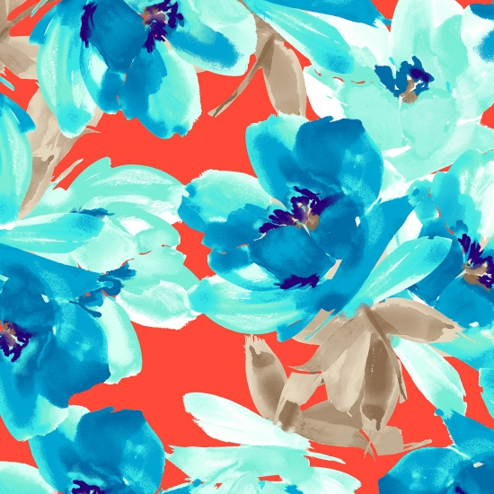 842 Coral Turquoise